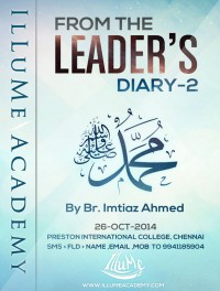 From the Leaders Diary - Part 2